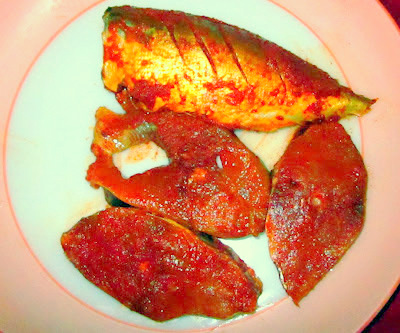 marinated fish