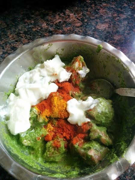 Konkani mutton curry 4