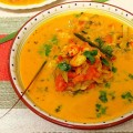 Prawn curry in Coconut Milk with lemon grass flavor