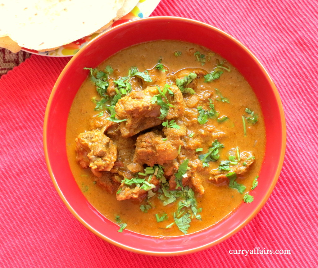 Traditional Konkani mutton curry