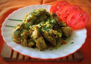 Spinach Mutton