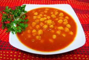 Chole with Mint flavor