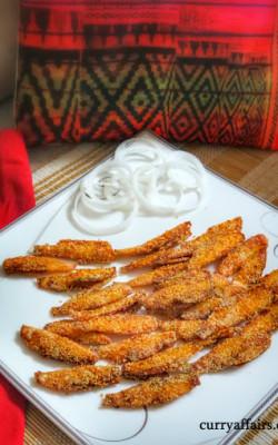 Deep fried Fish (Konkani Style)