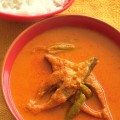 KONKANI FISH CURRY WITH ONION AND GINGER BASE (ALLE KANDE AMBAT)
