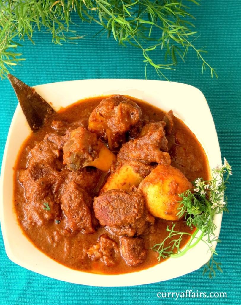 Kosha Mangsho (Bengali Mutton Curry)