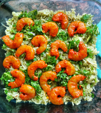 Prawns Biryani with Raita (2)
