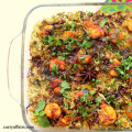 Prawns Biryani with Raita (1)