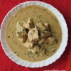 Methi Malai Chicken (Chicken in a cream based gravy with fenugreek leaves)